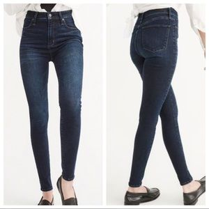 NWT Abercrombie and Fitch High Waist Jeans
